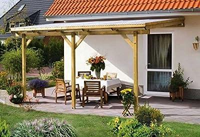 Skan Holz Terrassenüberdachung Pisa 500 x 300 cm kdi von SKAN HOLZ Europe GmbH bei Gartenmöbel von Du und Dein Garten