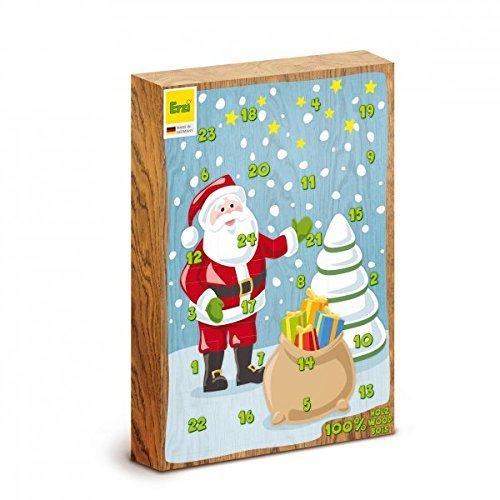 Erzi 28250 Adventskalender 24 Überraschungen für den Kaufmannsladen aus Holz Picture