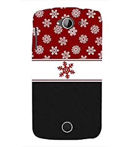 Red Flower Fashionable 3D Hard Polycarbonate Designer Back Case Cover for Acer Liquid Zade Z530 : Acer Liquid Zade Z530S