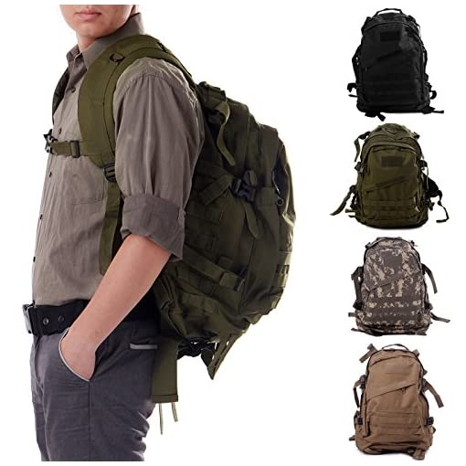 HDE-Heavy-Duty-Expandable-30L-Military-MOLLE-Tactical-Assault-Backpack