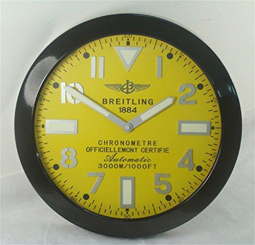 breitling-luminous-silent-sweep-wall-clock-black-yellow