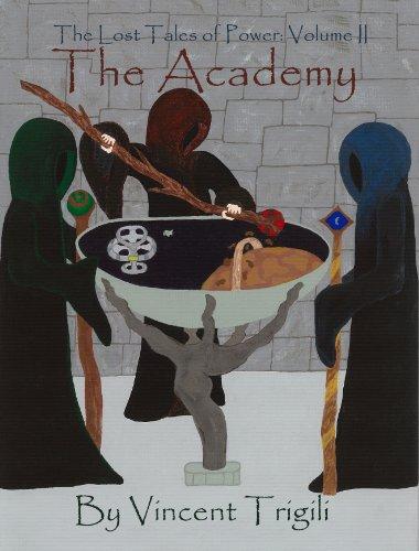 E-book - The Academy by Vincent Trigili
