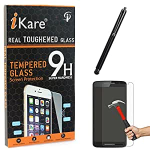 iKare Tempered Glass for Motorola Moto X Play, Tempered Screen Protector for Motorola Moto X Play + Touch Screen Stylus