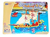 Build your own Wooden Pirate Ship Kit