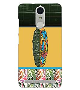 PrintDhaba Abstract Design D-5622 Back Case Cover for LENOVO K5 NOTE (Multi-Coloured)