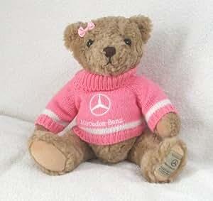 Mercedes benz pink teddy bear toys games for Mercedes benz bear