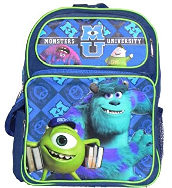 "Monsters University Backpack Medium 14"" Scare School Disney"