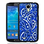 Royal Blue Bandana Paisley Pattern Plastic Hard Protective Case for Samsung Galaxy S4 i9500