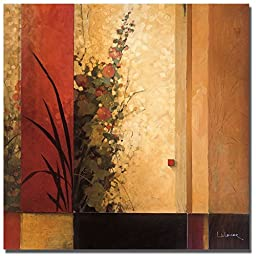 Hollyhock Garden by Don Li-Leger Premium Gallery-Wrapped Canvas Giclee Art (Ready-to-Hang) (Large)