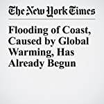 Flooding of Coast, Caused by Global Warming, Has Already Begun | Justin Gillis