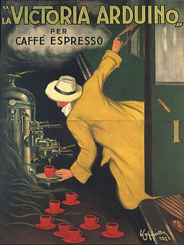 Victoria arduino cafee coffee espresso machine train italia italy italian vin - Machine a cafe vintage ...