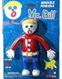 Mr. Bill poseable Bendable doll Figure toy