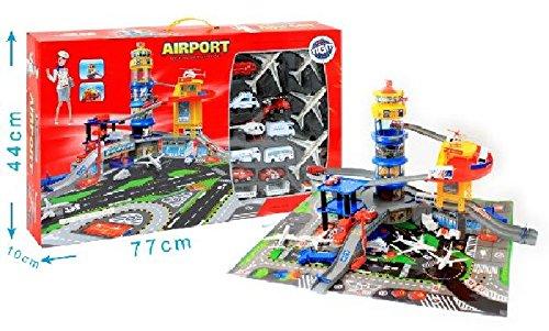 Aeroport Tour De Controle Et Heliport 4 Avions