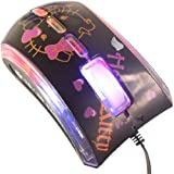 Hello Kitty USB Scroll Optical Mouse Laptop PC 0416 By SH