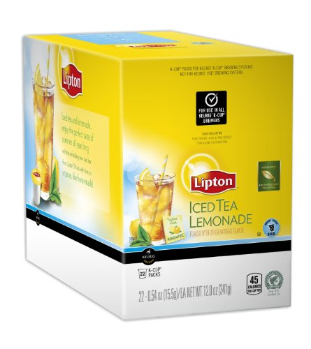 Lipton Iced Tea Lemonade 88 K Cup Packs