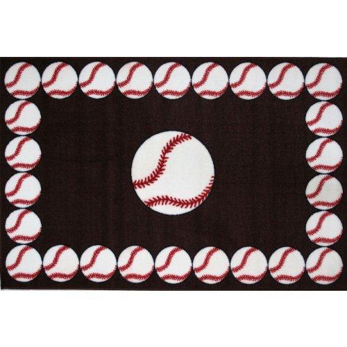 Baseball Area Rug 39