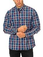 Mc Gregor Camisa Hombre (Azul / Rojo / Blanco)