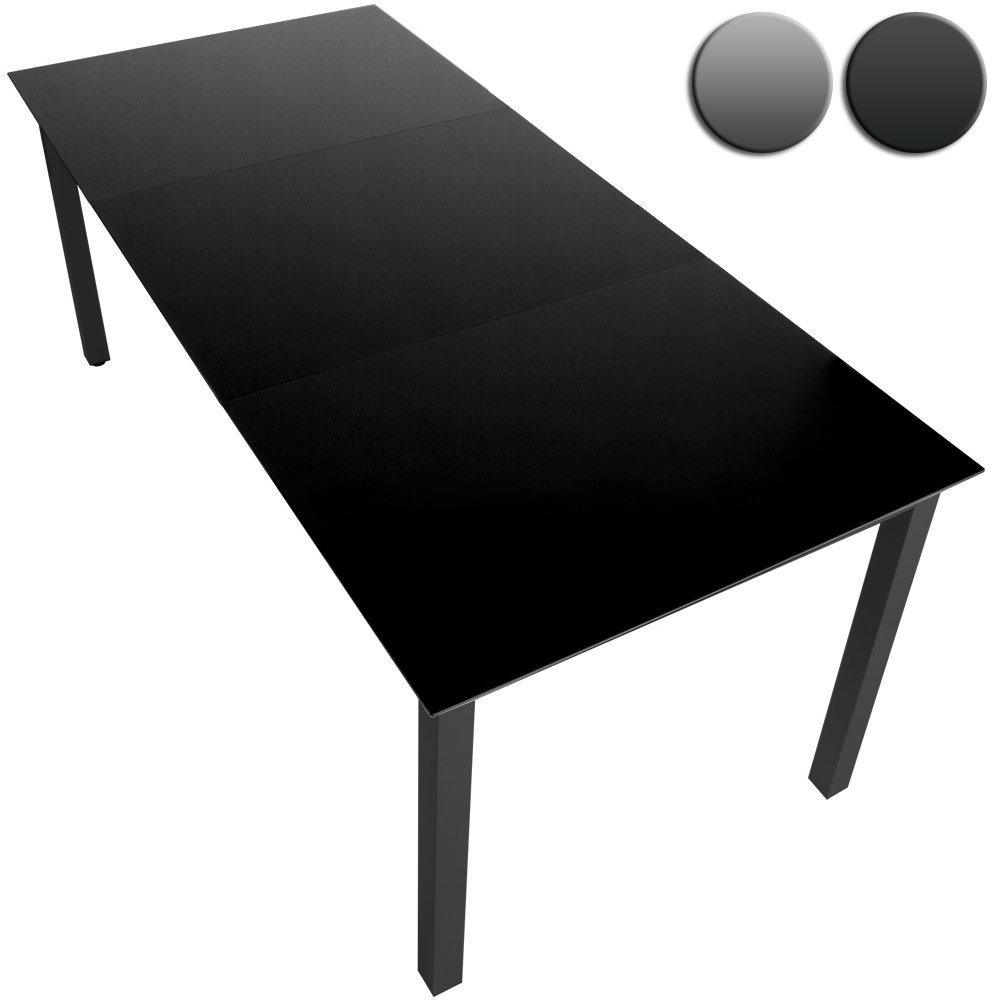 Gartentisch Glastisch Beistelltisch Aluminium (Farbwahl) – 190x87cm bestellen