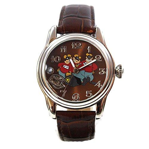 Disney Orologio automatico orologio Panzer schiaccianoci argento orologio da donna cinturino in pelle collezionisti