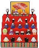 【ひな人形】 雛人形 出産祝い お雛様 陶器 桃の節句 雛祭り 内祝い 誕生日お祝い 大人女子もひな祭り 平安五段飾り雛