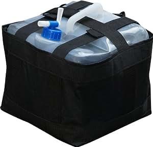 FIELDOOR タープテント共用 ウェイトバッグ&ウォータータンク (ペグが使用出来ない場所のテント設営時必需品!) (2個セット)