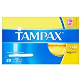 Tampax Tampons Regular 8x20 Pack