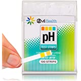 pH Balance Test Strips for Urine or Saliva FREE pH Diet Ebook & Alkaline Magnet Included. Instant Results.