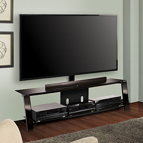 Bell'O International TP4463 63 Inch Two-Shelf Triple Play Universal A/V System with Swivel TV Mounting