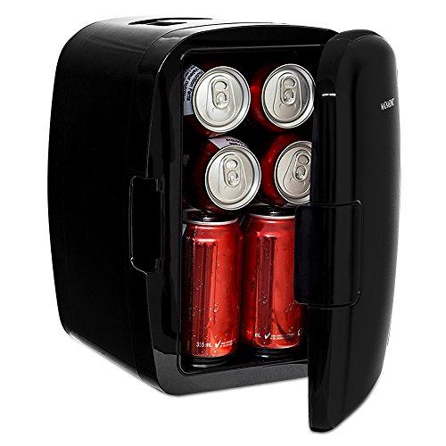 Magnasonic Portable 8 Can Mini Fridge Cooler & Warmer, 5L Capacity, Fully Insulated, Thermoelectric, 110V & 12V AC/DC Power for Home, Office, Car, RV & Boat (MF50) (Refreshment Fridge compare prices)