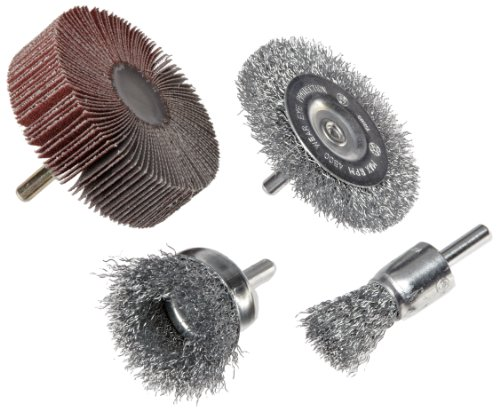 Weiler Brush 4-Piece Drill Accessory Kit