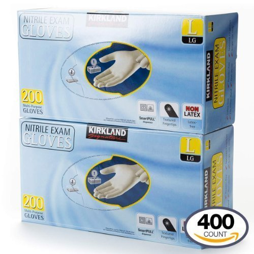 kirkland-signature-nitrile-exam-multi-purpose-large-gloves-latex-free-200-count-2-pack-total-400-cou