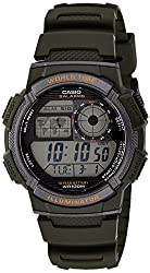 Casio Youth Digital Grey Dial Mens Watch - AE-1000W-3AVDF(D119)