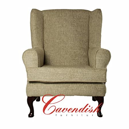 """LUXURY ORTHOPEDIC HIGH SEAT CHAIR in PALOMA KHAKI FABRIC 21"""" or 19"""" SEAT HEIGHT (19"""" Seat Height)"""