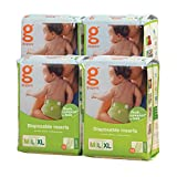 gDiapers Disposable Inserts, Medium/Large/X-Large, 128 Count