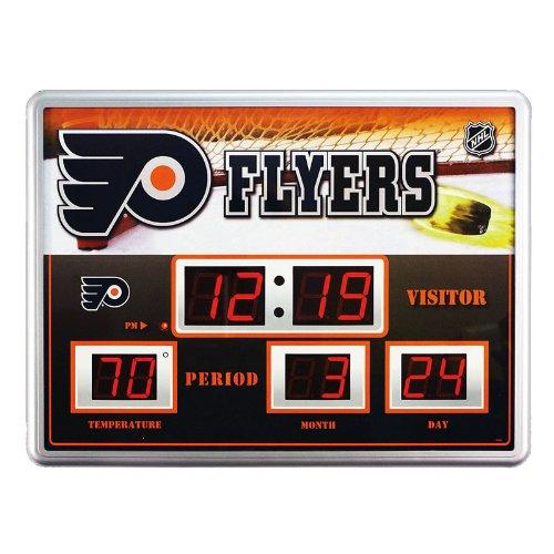 Philadelphia Flyers Time / Date / Temp. Scoreboard