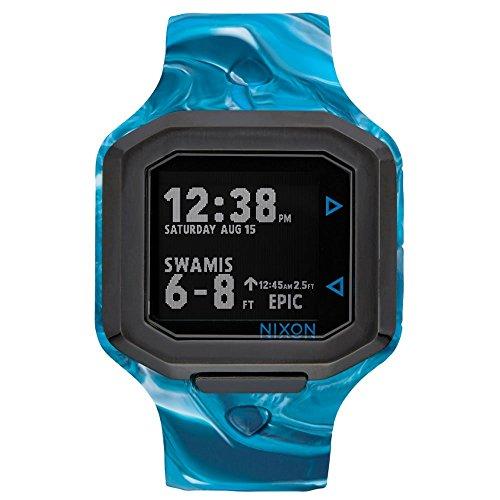 Nixon Unisex Reloj de pulsera digital cuarzo silicona a4762246