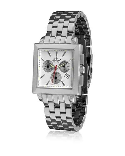 Bassel Reloj con movimiento cuarzo suizo 60126B Plateado 40  mm