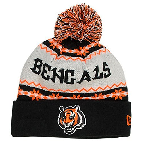 Cincinnati Bengals NFL New Era Ugly Sweater Knit Hat
