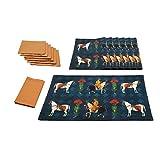 The Transcendant Stallion Table Mat & Napkin Set