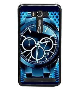 printtech Watch Chronogragh Back Case Cover for Asus Zenfone 2 Laser ZE500KL , Asus Zenfone 2 Laser ZE500KL (5 Inches)