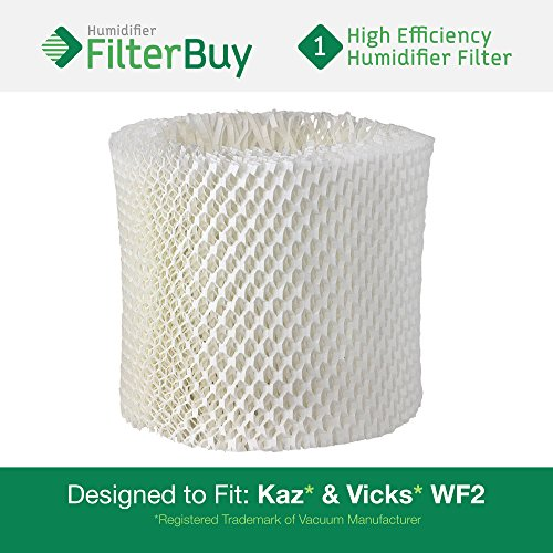 WF2 Kaz Replacement Humidifier Wick Filter. Fits Kaz HealthMist humidifier models 3020, V3100, V3500, V3500N, V3600, V3800, V3850 and V3900. Designed by AFB in the USA. (Replacement Filter Kaz Wf2 compare prices)