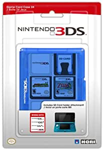 Nintendo 3DS Game Card Case 24 - Blue