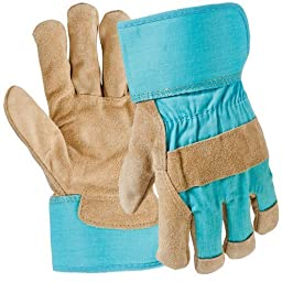 Digz Garden Glove Leather Palm Med by Big Time Products