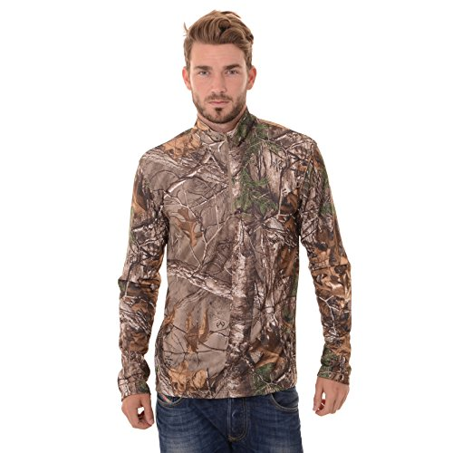 realtree-mens-long-sleeve-1-4-performance-shirt-medium-realtree-xtra