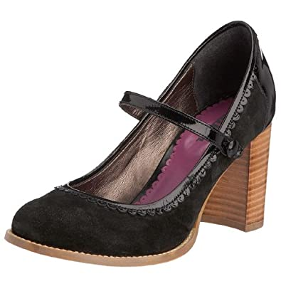Killah Women's Bea Mary Jane Heel Black M00351_SS9297_G06000 3.5 UK