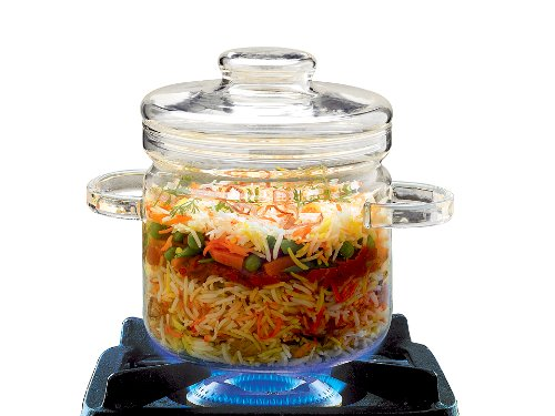Borosil Gourmet Cook and Serve, 1.5 Litres