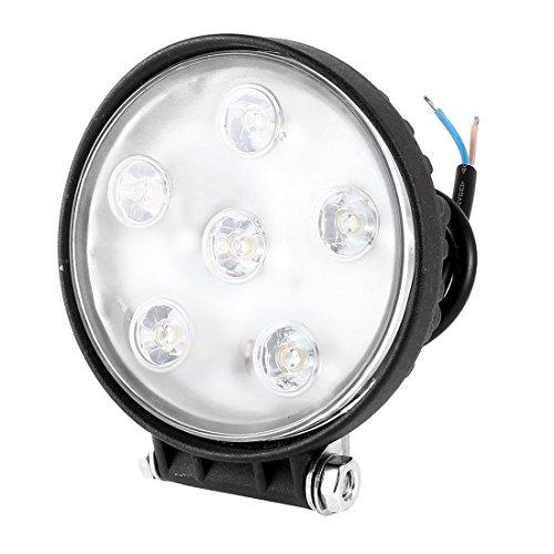 11cm Dia Round 6 LED blanc voiture Daytime Running Light Lamp DRL