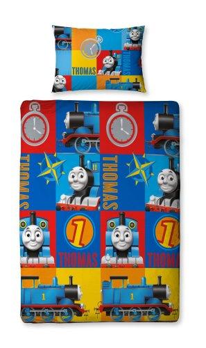 Character World Thomas and Friends Power Single Rotary Duvet Set, Multi