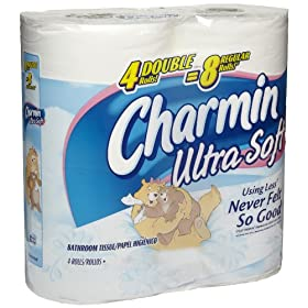 Charmin 29685 Ultra Soft Bathroom Tissue Roll 176-Sheets (10 Packs of 4)