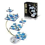 Franklin Mint's Official 50th Anniversary STAR TREK Tridimensional Chess Set